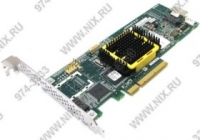 Adaptec Adaptec RAID 2405 ASR-2405 Single PCI-E x8, 4-port SAS/SATA, RAID 0/1/10/JBOD, Cache 128Mb